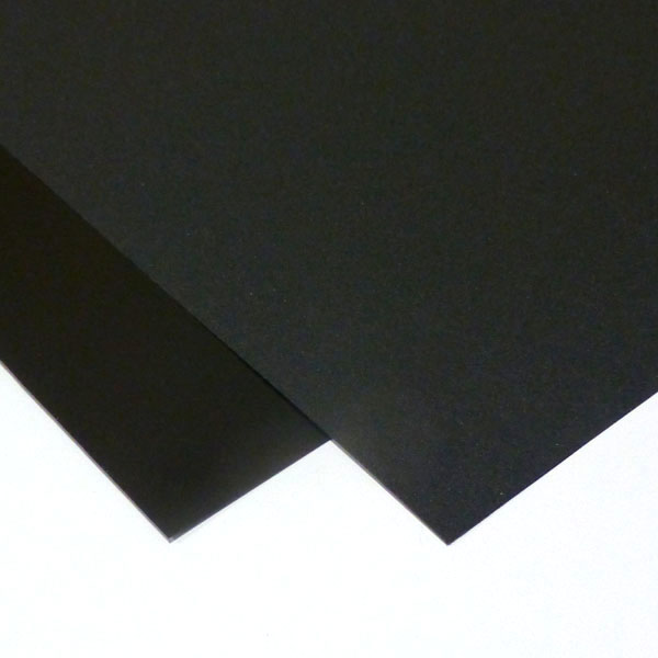 """24/' x 48/' Lexan 0.017/"""" FR700 Black"""
